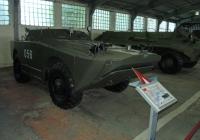 бронемашина разведки БРДМ-1. Московская область, пос. Кубинка, музей бронетанковой техники