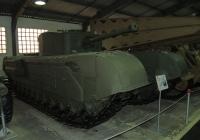 огнеметный танк Churchill Crocodile. Московская область, пос. Кубинка, музей бронетанковой техники