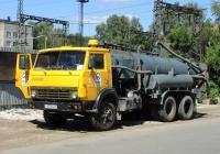 Илососная машина КО-507А на шасси КамАЗ-53213 # У079МК63. г. Самара, ул. Гая