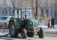 "Трактор ТТЗ-80.10 ""Русич"".  Курган, улица Куйбышева"