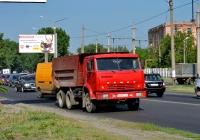 Самосвал КамАЗ-5511 #АХ 9027 СК. Харьковская область, г. Харьков, Салтовское шоссе