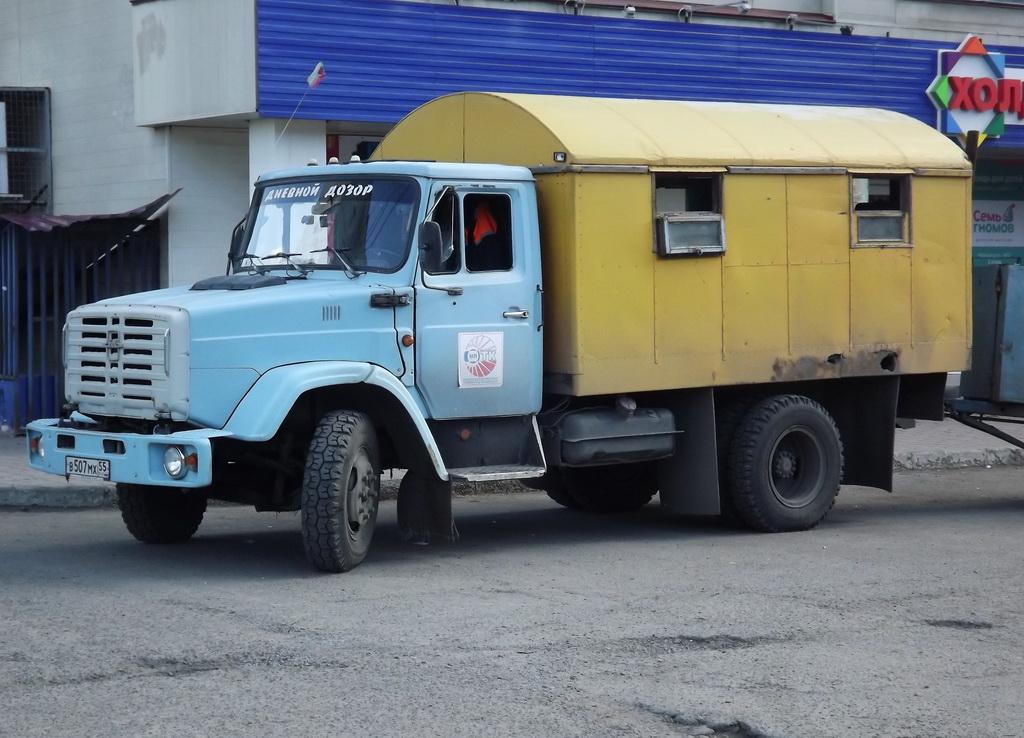 ЗиЛ-494560. Омск, улица Маяковского