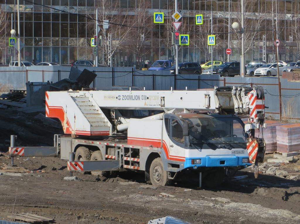 Автокран Zoomlion ZLJ5323JQZ30V #Н 872 МК 45 .  Курган, улица Климова