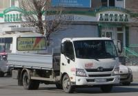 Бортовой грузовик Чайка-Сервис 4784КZ на шасси Hino 300 #К 112 КТ 45.  Курган, улица Куйбышева