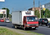 Изотермический фургон на шасси  Tata LPT613 #АХ 2994 СО. Харьковская область, г. Харьков, Салтовское шоссе