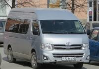 Микроавтобус Toyota Hiace #Р 701 КО 45.  Курган, улица Гоголя