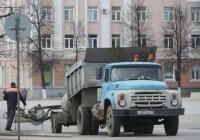 Самосвал ЗиЛ-ММЗ-4502 на шасси ЗиЛ-130 #Т 807 АС 45.  Курган, улица Гоголя