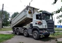 Самосвал  Scania R 480 #АА 8585 CI. Харьковская область, г. Харьков, Салтовское шоссе