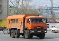 Вахтовый автобус ВМГ-43118 на шасси КамАЗ-43118 #Н 235 РЕ 174. Курган, Станционная улица
