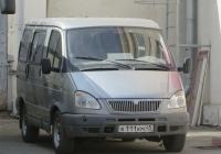 "Микроавтобус ГАЗ-2217 ""Соболь Баргузин"" #К 111 КМ 45. Курган, улица Ленина"