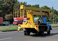Автоподъёмник АГП-22 на шасси ЗиЛ-130* #235-34 ХА. Харьковская область, г. Харьков, Салтовское шоссе