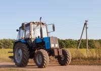 Трактор МТЗ-892 с плугом, #11257АХ. Харьковская область, село Петровка