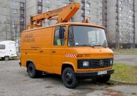 Автоподъёмник Mercedes-Benz T2 #SO2068C. ul. Marszałka Edwarda Rydza-Śmigłego, Сосновец, Польша