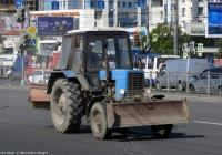 Трактор Беларус-82.1 (МТЗ-82.1) #6192 РЕ 78. Санкт-Петербург, улица Типанова