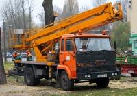 Автоподъёмник Bumar P183 на шасси Star 200. ul.Powstańców Warszawy, Гливице, Польша
