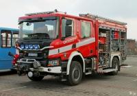 Пожарная автоцистерна GCBA 5/32 на шасси Scania P370. ul.Gzichowska, Бендзин, Польша
