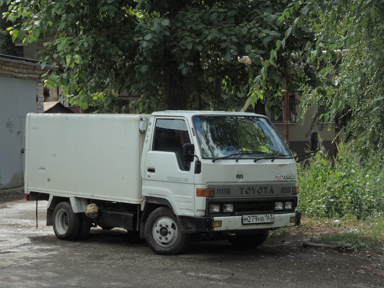 фургон на шасси Toyota Toyoace #М279НВ163. г. Самара,пр. Масленникова