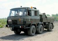Балластный тягач Tatra 815 6x6 TP. ul. Zabrzańska, Бытом, Польша