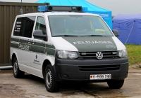 VW Transporter военной полиции вооружённых сил Германии (Feldjäger) #Y-599198. Lotnisko Leoše Janáčka, Острава, Чехия