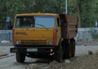 самосвал КамАЗ-5511 #К915УО163. г. Самара, ул. Советской Армии