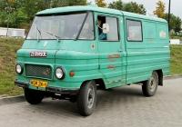 Цельнометаллический фургон на базе пожарного автомобиля FSC Żuk A-15 #WGM2W. ul. Henryka Mikołaja Góreckiego, Катовице, Польша