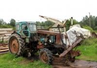 Трактор Т-40АМ. Псковская область, Великолукский район, Нивы