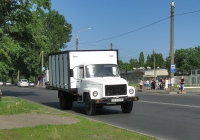 Фургон на шасси ГАЗ-3307-12 #АХ 2253 ЕЕ. Харьковская область, г. Харьков, Салтовское шоссе