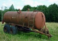 Машина для внесения жидких органических удобрений МЖТ-10. Россия, Псковская область, Печоры