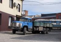 Бортовой грузовик ЗиЛ-133ГЯ, #АА6467ТА. Харьковская область, г. Харьков, локомотивное депо Основа