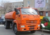 Автогудронатор АС-53605 на шасси КамАЗ-53605.  Курган, улица Савельева