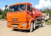 Илососная машина КО-510К на шасси КамАЗ-43253 К 267 НМ 29. Архангельская область, Мирный