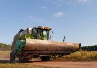 Зерноуборочный комбайн Claas Mega 208 с очесывающей жаткой, #02534АХ. Харьковская область, село Петровка