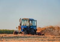 Трактор МТЗ-82 с мульчирователем ПН-2,0, #8139ХИ. Харьковская область, село Петровка