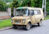 Микроавтобус Nysa 522T #Н 728 ВА 60. Псков, Первомайская улица