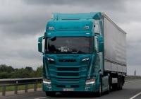 Седельный тягач Scania R500 #TS 122BO. Россия, Псков, Ленинградское шоссе