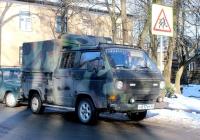 VW Transporter T3 #У 017 РС 60. Псков, улица Олега Кошевого
