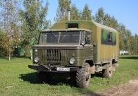 КУНГ К66 на шасси ГАЗ-66 переоборудован в сауну #Н 029 КК 60. Псков, улица Кузбасской Дивизии