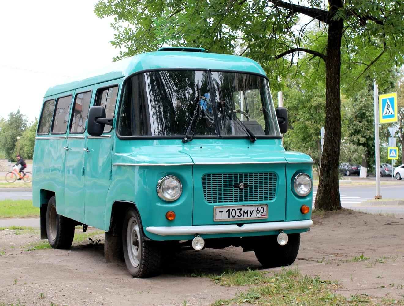 Микроавтобус Nysa 522M #Т 103 МУ 60. Псков, улица Максима Горького