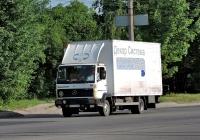 Фургон на шасси Mercedes-Benz 811 Ecopower  #АХ 0720 АВ. Харьковская область, г. Чугуев, автотрасса М-03