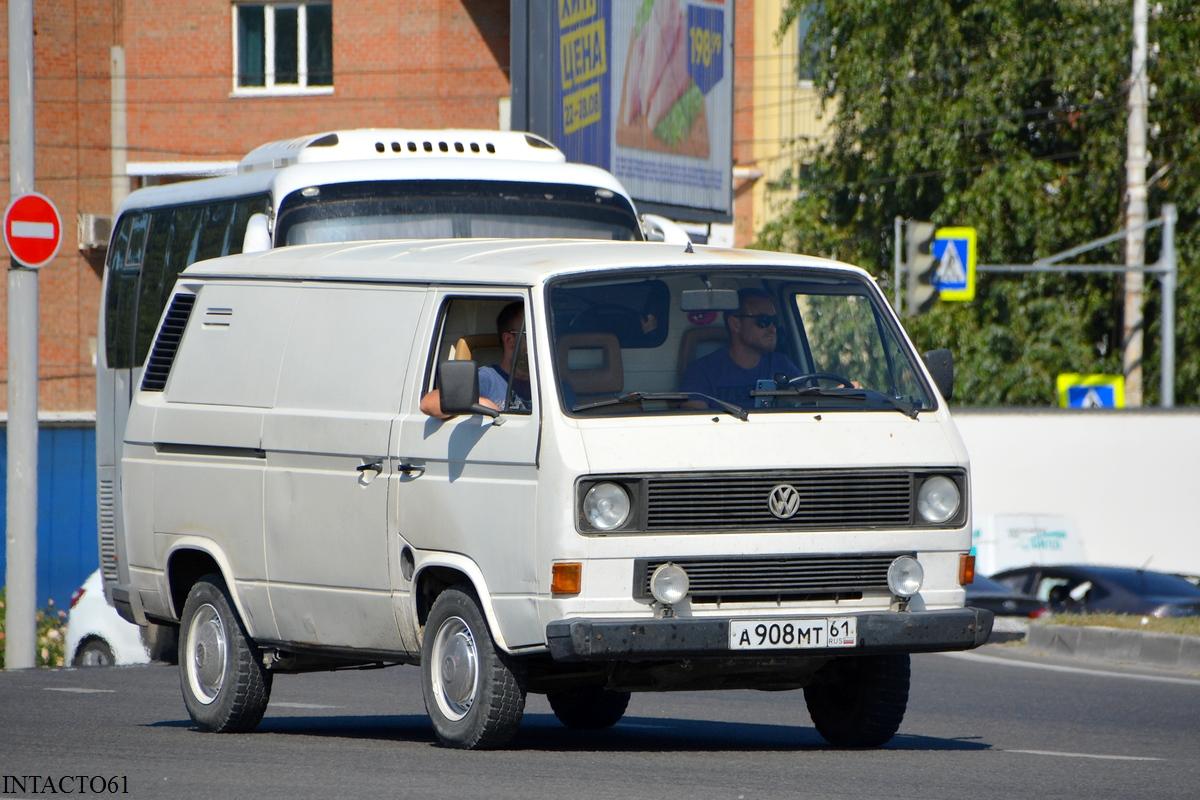 Фургон Volkswagen Transporter T3 #А 908 МТ 61. Ростов-на-Дону, улица Малиновского