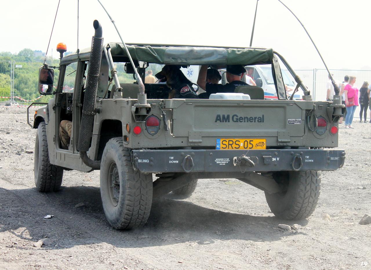 Автомобиль AM General M1038A1 #SRS05. ul. Zabrzańska, Бытом, Польша