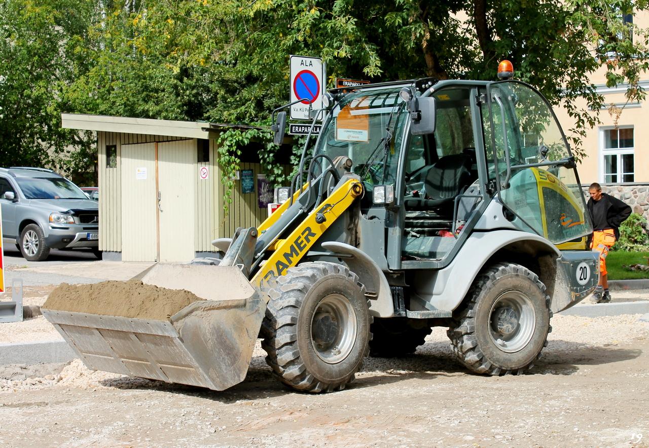 Колесный погрузчик Wacker Neuson 5075. Pepleri 5, Тарту, Эстония