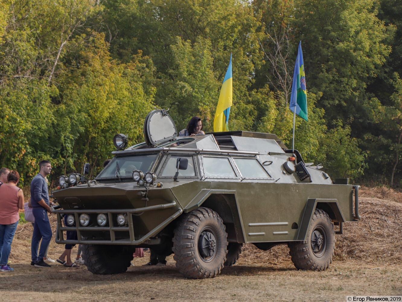 БРДМ-2 #08227АХ. Харьковская область, аэродром «Коротич»