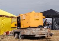 Дизельный генератор Gesan на прицепе. Харьковская область, аэродром «Коротич»