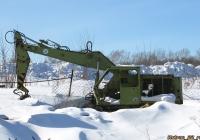 Экскаватор Fortschritt T-174. Алтайский край, Барнаул, Ипподром