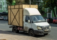 Грузовой автомобиль на базе ГАЗ-330232 #Н984СР163. г. Самара, ул. М. Горького