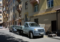 Малотоннажный грузовик УАЗ Профи #О 234 ОА 40. Москва, Рижский проезд
