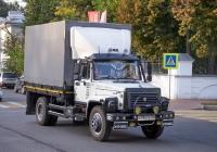 грузовой автомобиль ГАЗ-3307 #У986УЕ76. г. Ярославль, ул. Большая Октябрьская