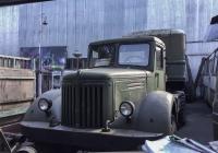Седельный тягач МАЗ-200М. г. Москва, улица Заречье (Музей индустриальной культуры)