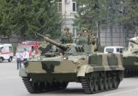 Боевая машина пехоты БМП-3. Курган, площадь имени В.И. Ленина